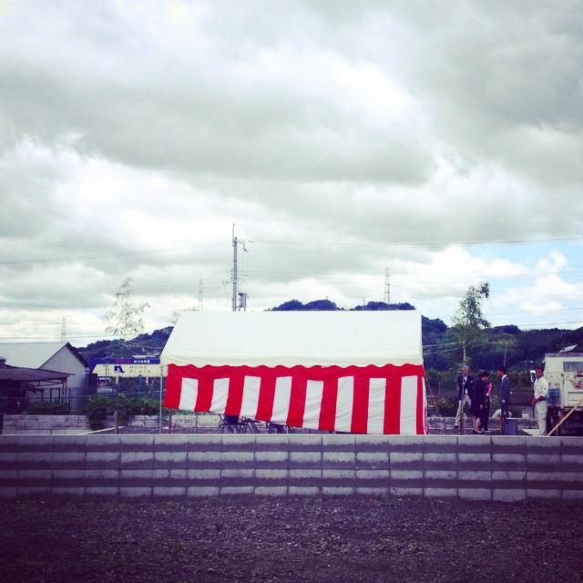 かつらぎのいえ 地鎮祭