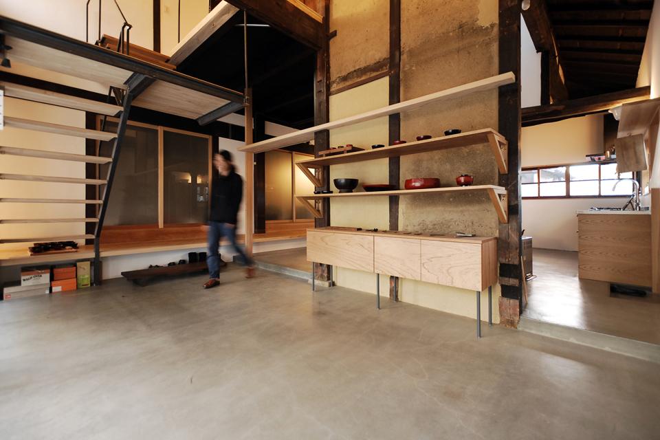 京田辺の古民家リノベーション